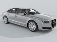 Audi A8 (2014) 3D Model