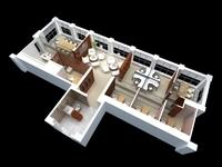 Office 050 3D Model