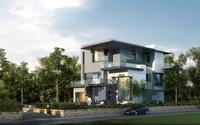 3d Villa 027 3D Model