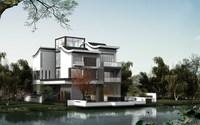 3d Villa 029 3D Model