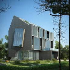 3d Villa 031 3D Model