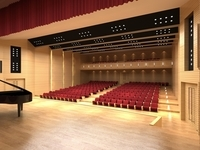 Opera house 002 3D Model