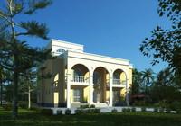 3d Villa 033 3D Model