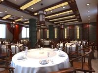 Restaurant 004 3D Model