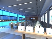 Restaurant 012 3D Model