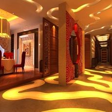 Restaurant 014 3D Model
