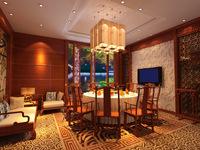 Restaurant 018 3D Model