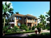 3d Villa 041 3D Model