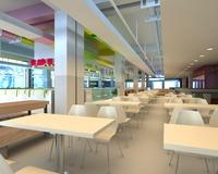 Restaurant 026 3D Model