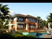 3d Villa 042 3D Model