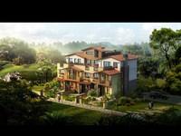 3d Villa 043 3D Model