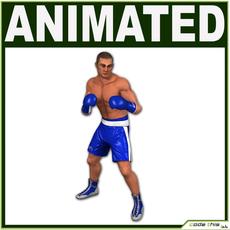 White Boxer CG 3D Model