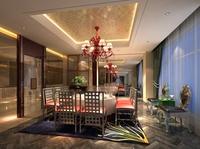 Restaurant 036 3D Model