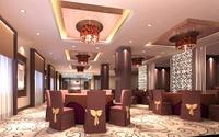 Restaurant 040 3D Model