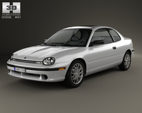 Dodge Neon Sport Coupe 1996 3D Model