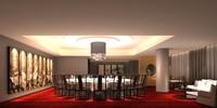 Restaurant 055 3D Model