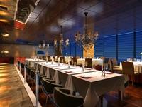Restaurant 060 3D Model