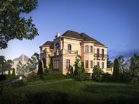 3d Villa 069 3D Model
