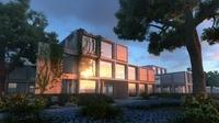 3d Villa 074 3D Model