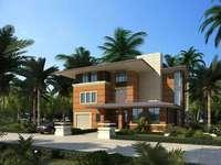 3d Villa 075 3D Model