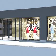 Store 004 3D Model