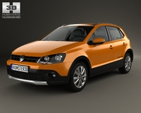 Volkswagen Cross Polo 2011 3D Model