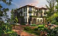3d Villa 104 3D Model