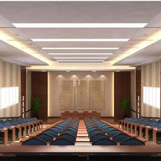 Terrace classroom 001 3D Model