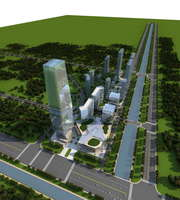3D  Building 001 3D Model