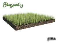 Grass patch 03 3D Model