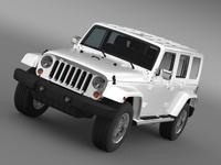 Jeep Wrangler Unlimited ENVI 3D Model