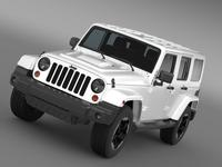 Jeep Wrangler Polar 2014 3D Model