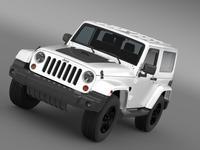 Jeep Wrangler Arctic 2012 3D Model