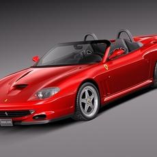 Ferrari 550 Barchetta 2000-2002 3D Model