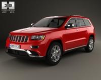 Jeep Grand Cherokee Summit 2014 3D Model