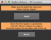 Free RigBox Reborn - PV Locator Script for Maya 1.0.0 (maya script)