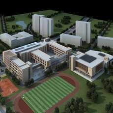 3D  Building 033 3D Model