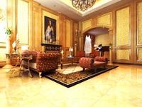 Condo Living Room 113 3D Model