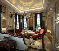 Condo Living Room 115 3D Model