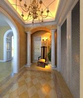 Condo Living Room 116 3D Model