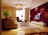Condo Living Room 117 3D Model