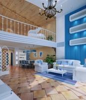 Condo Living Room 118 3D Model