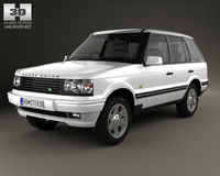 Land Rover Range Rover 1998 3D Model