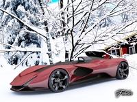 Ferrari Aliante std mat 3D Model