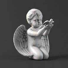 Sculpture 20 Angel 3D Model