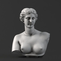 Sculpture 06 Aphrodite 3D Model