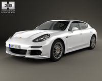 Porsche Panamera S E-Hybrid 2014 3D Model