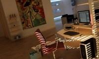 Condo Living Room 126 3D Model