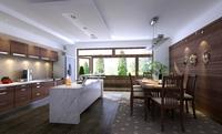 Condo Living Room 130 3D Model