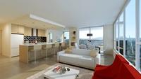 Condo Living Room 137 3D Model
